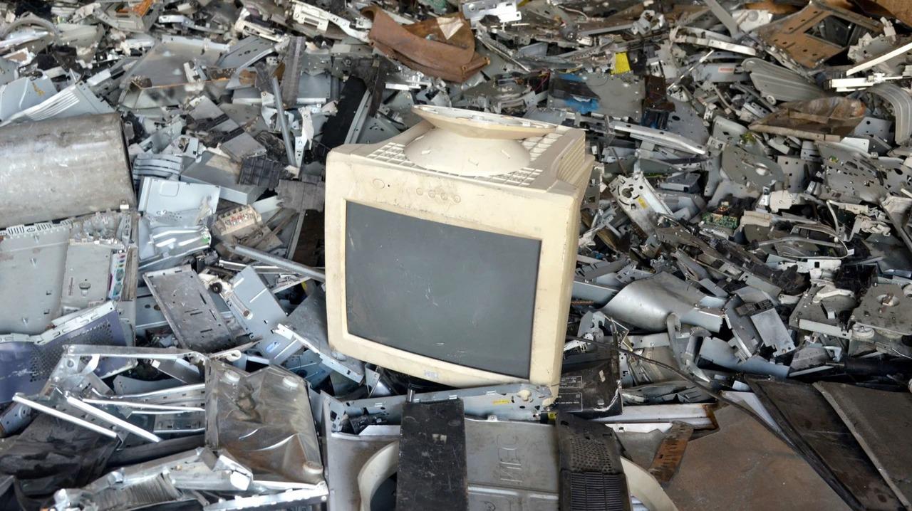 2019年に廃棄された電子ごみの量が過去最多に