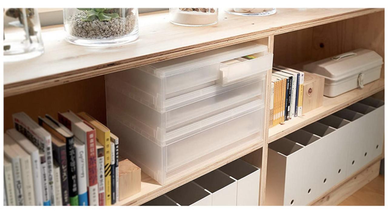無印良品の引き出し収納ボックス4選。サイズが揃ってスッキリ並べて、デッドスペースを有効活用できるよ