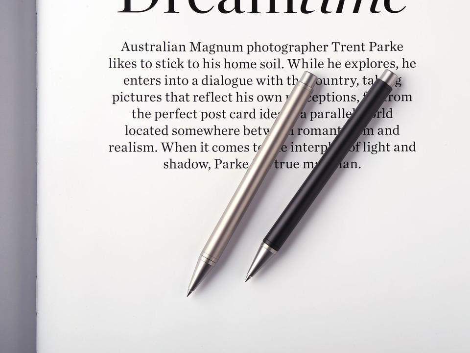 シンプルは美しい。コスパも優れたチタン製ボールペン「TP1」がキャンペーン開始