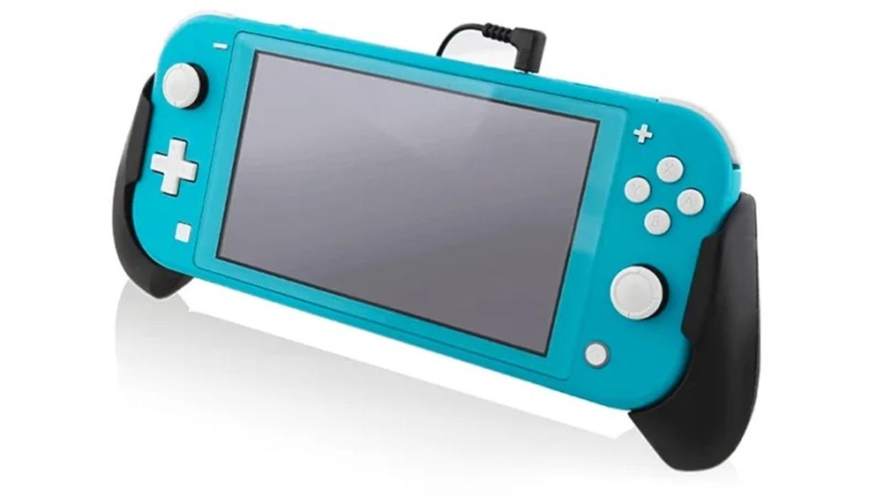 Nintendo Switch Lite用バイブ付きグリップは音に反応してブルブルする