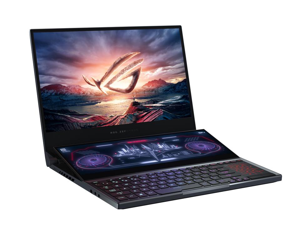 ASUSのへんたい2画面PCがゲーミングモデル「ROG」へ進化しました