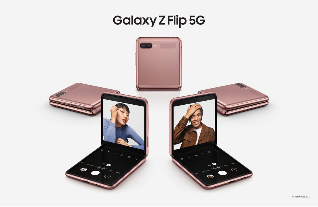 「Galaxy Z Flip」5G版が発表! Snapdragon 865 Plus搭載でパワーアップ