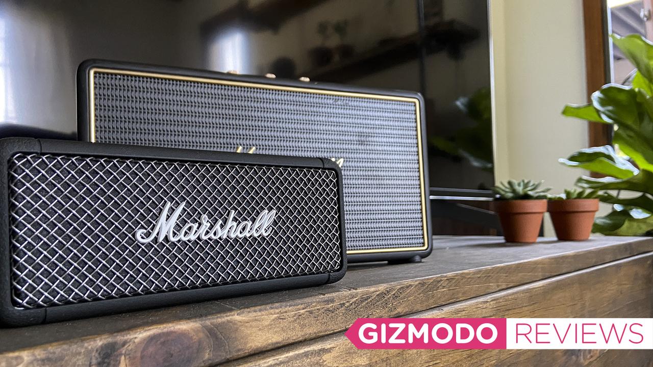 Marshall Embertonレビュー:見た目もサウンドも美しき、マーシャルの防水Bluetoothスピーカー!