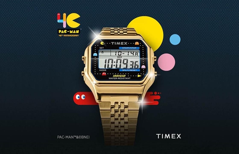 『パックマン』40周年を記念したタイメックスの腕時計「T80」が日本で発売