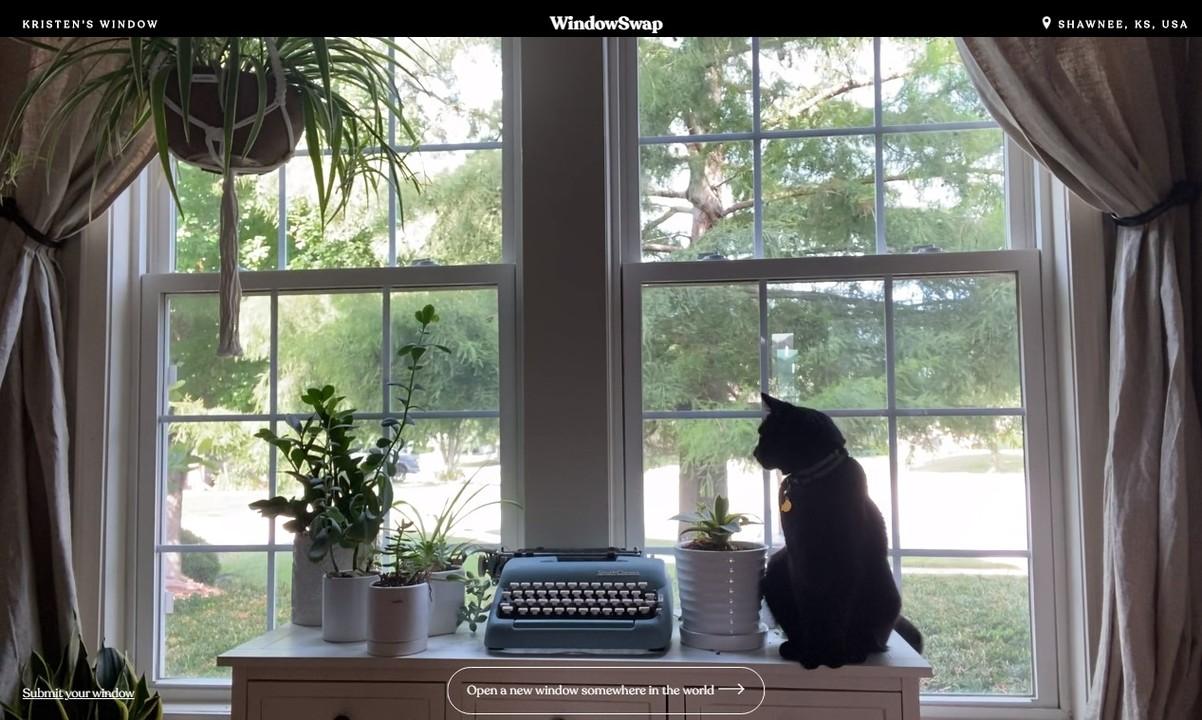 世界中の「誰かの家の窓からの景色」を眺められるWEBサイト