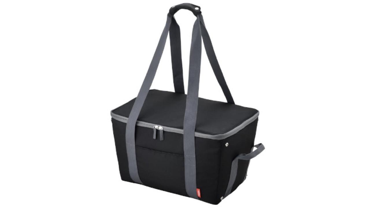 暑い日に。サーモスの大容量&小さく畳める保冷買い物バッグが便利!