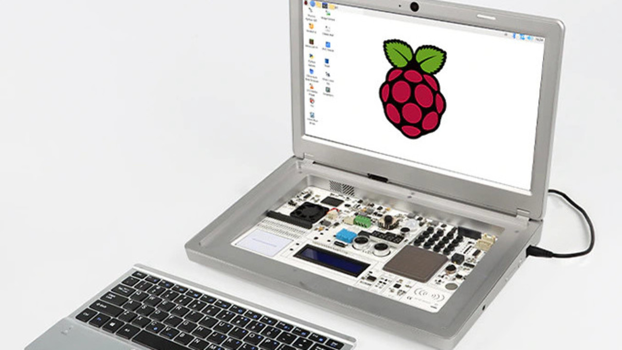 このRaspberry Pi ラップトップなら、うちの子もコードに興味持つかな!?