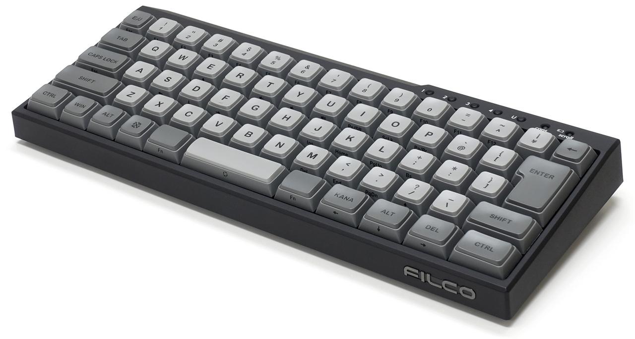 最大5台のデバイスを切り替えて使えるCherry MXキー採用のコンパクトキーボードが激アツ!