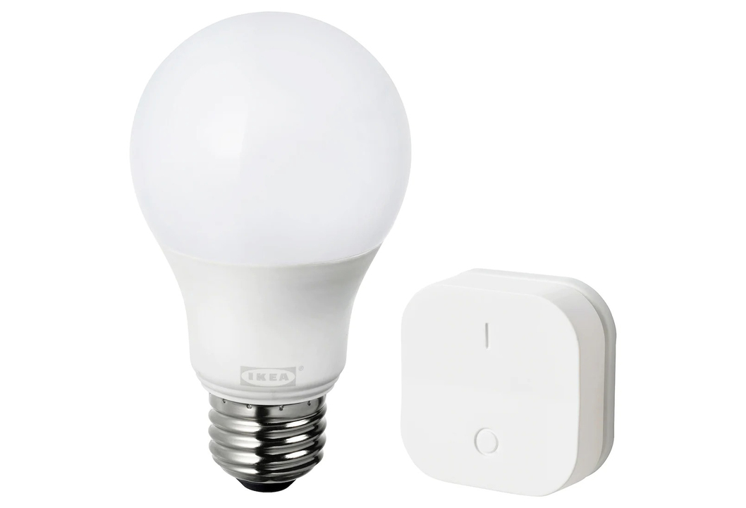 IKEA製スマート電球はワイヤレス調光器セットで999円の激安プライス