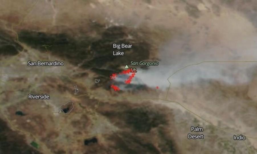 LAの大規模火災を宇宙から撮影した画像を見たわかったこと