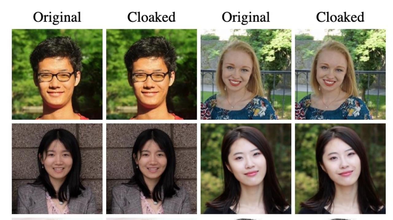 顔写真のアルゴリズムを混乱させて欺くという研究