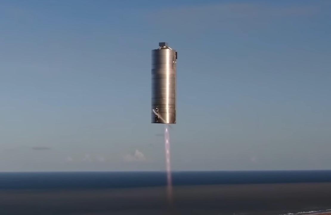 ガス缶みたいなスペースX宇宙船のテスト機、見事ホップ飛行に成功