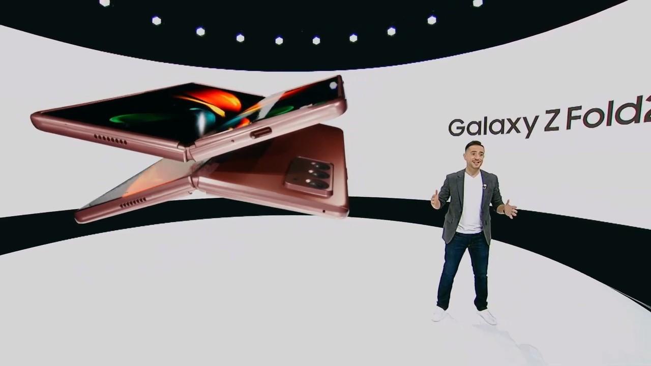 閉じればスマホ、開けばタブレット。「Galaxy Z Fold 2」完成度たかそう#SamsungUnpacked