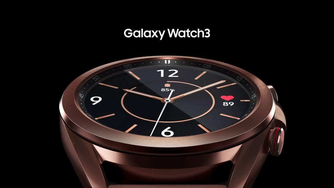 ベゼルぐーるぐるなGalaxy Watch 3が登場 #GalaxyUnpacked
