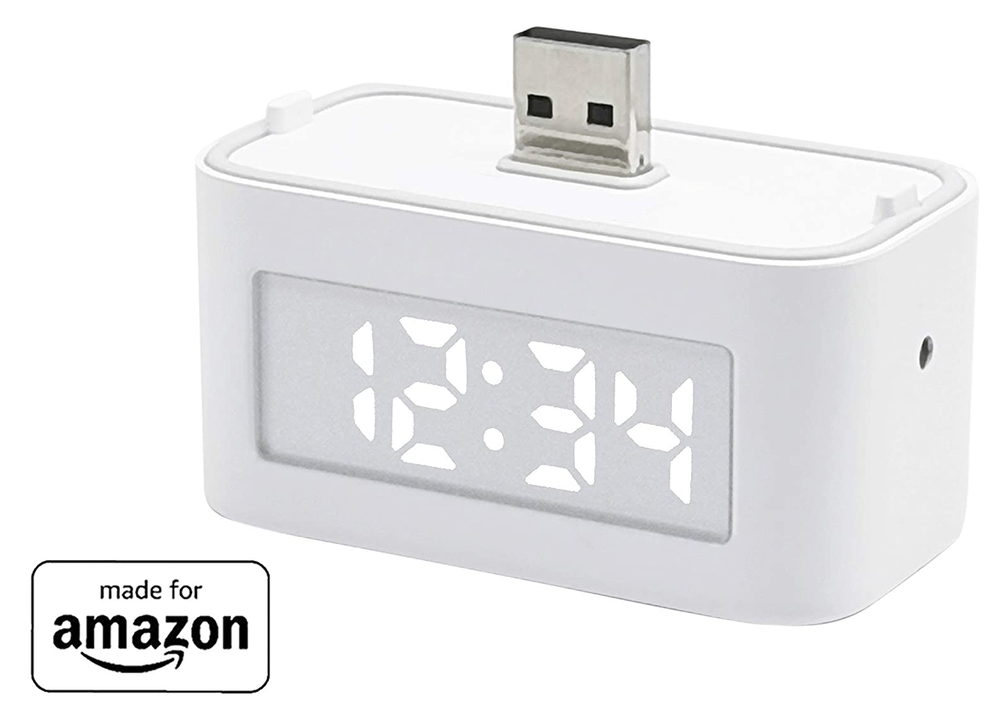 Echo Flex用のスマートクロック。キッチンや洗面台に良さげじゃない?