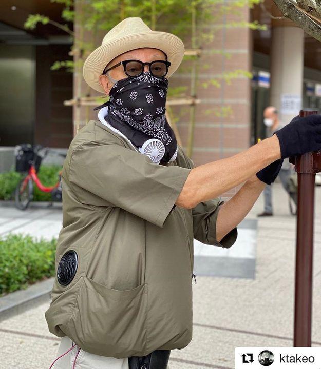 もう作業服じゃない。「空調服(TM)」が「タケオ キクチ」コラボでプルオーバーに