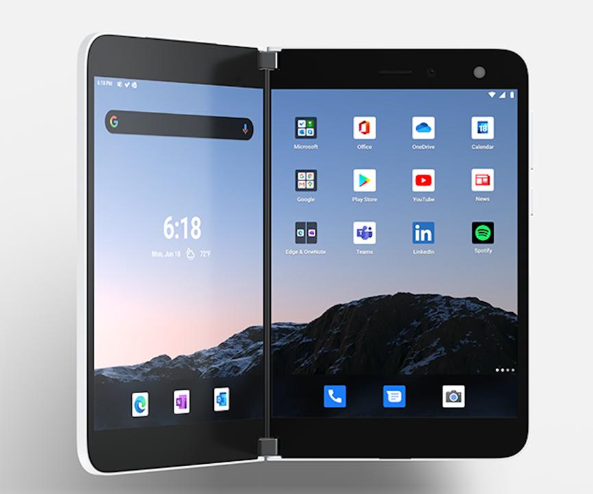 Surface Duo、正式発表!9月10日発売、1399ドルから!!