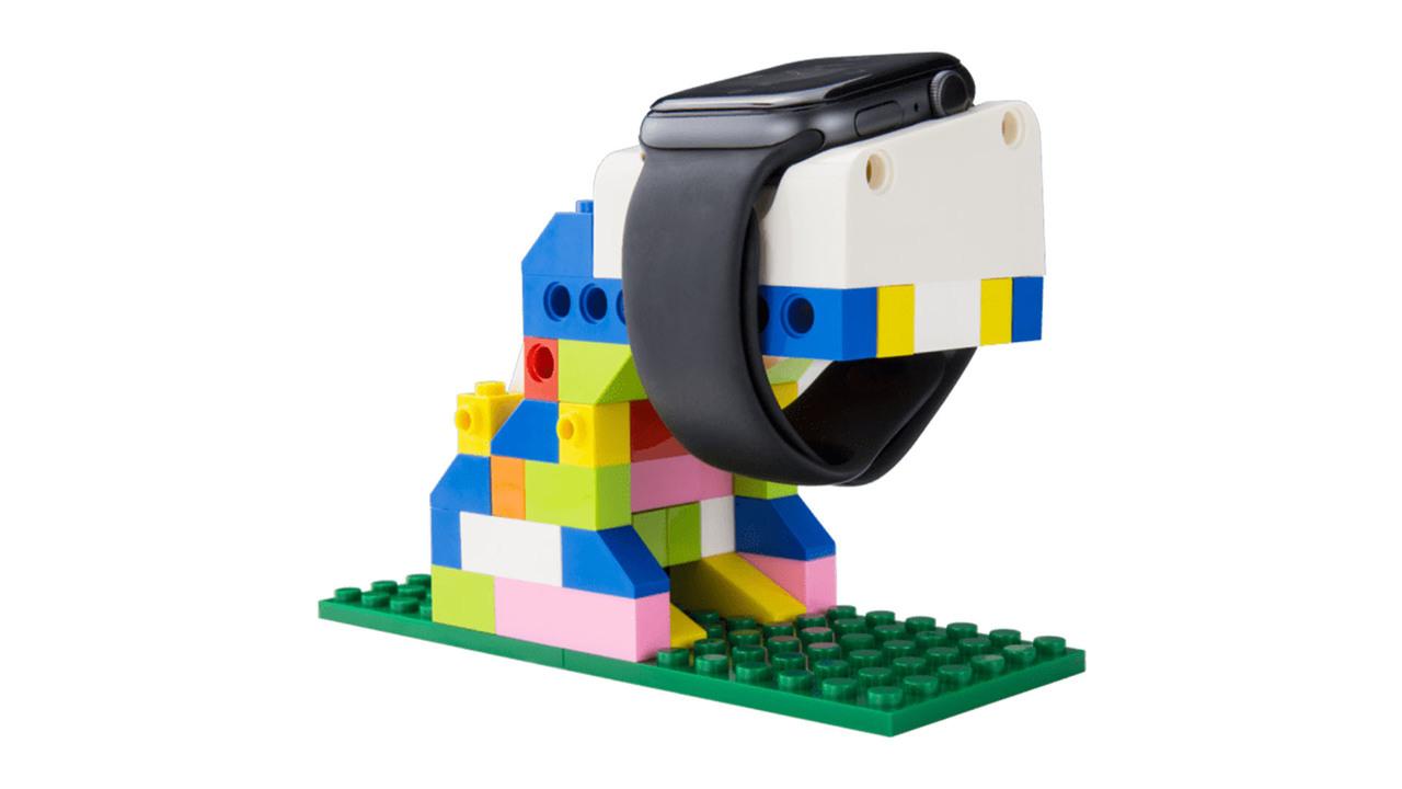 「あのブロック」っぽいぞ。スマホ&Apple Watchスタンドが自作できる「BLOCKS」