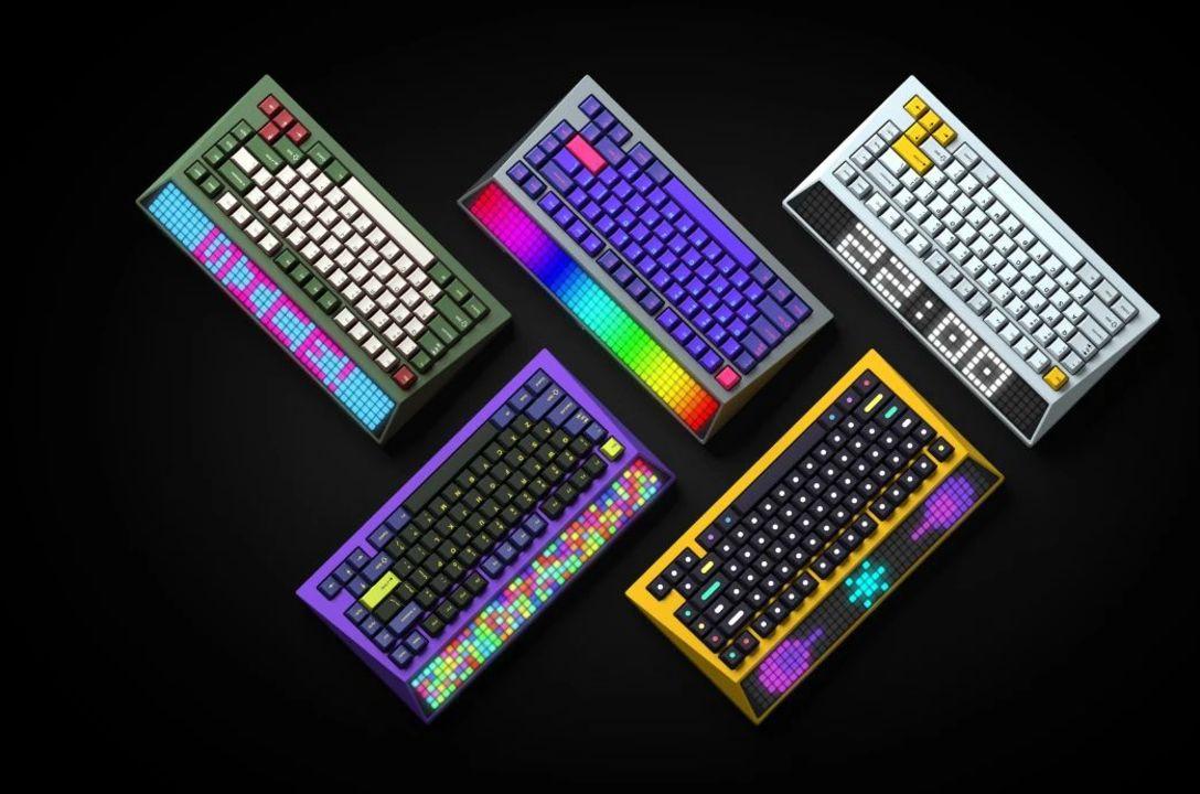 サイバーパンク的ネオン味がたまらないキーボード「CYBERBOARD」