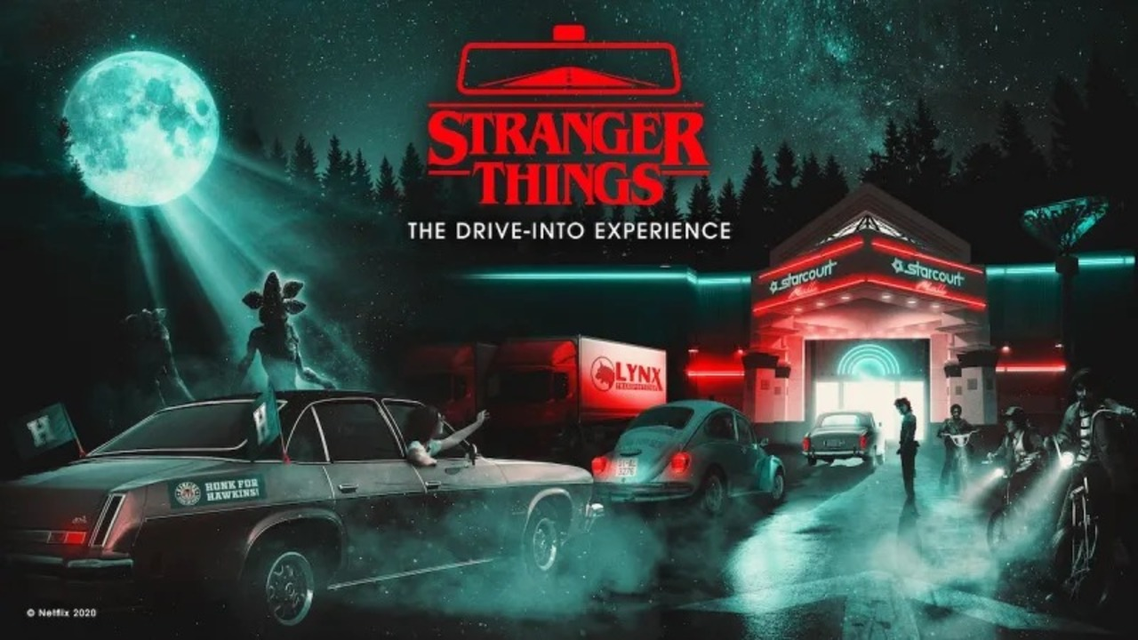裏側の世界へようこそ…『ストレンジャー・シングス』のドライブスルー型お化け屋敷