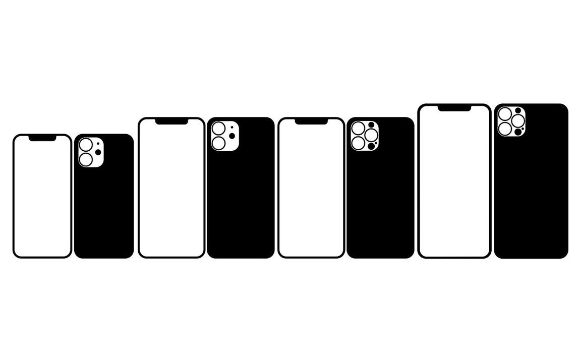 iPhone 12(仮)シリーズのデザインはこんな感じ?