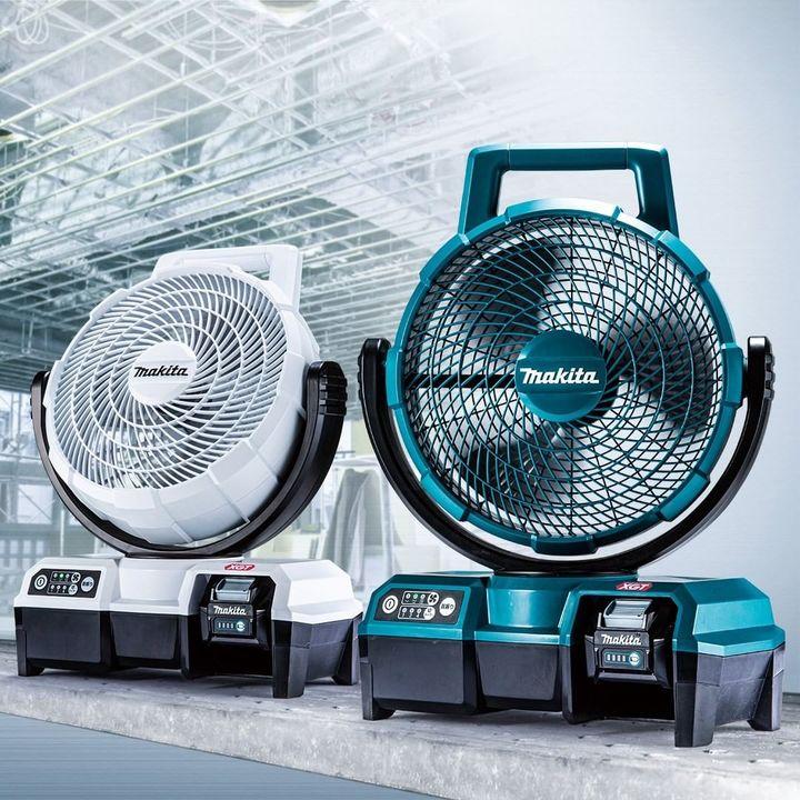 マキタの充電式ファンは工具用バッテリーで家でもアウトドアでも涼しさお届け