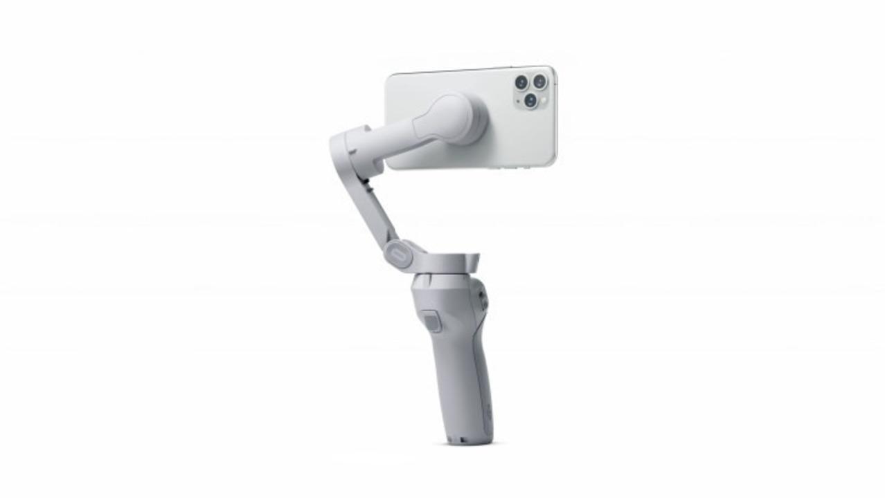 DJIスマホジンバル「Osmo Mobile 4」リーク:磁石マウントでスマホを瞬時に装着!