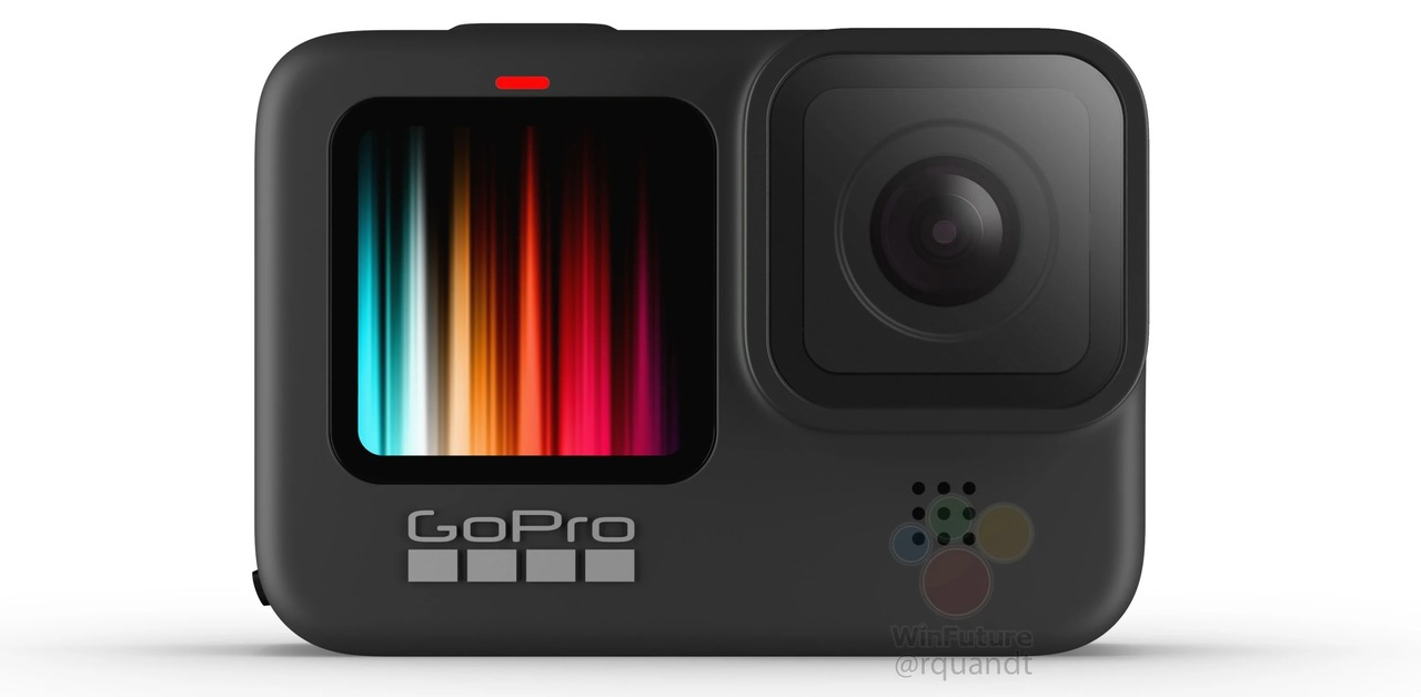 GoPro Hero9は前面がカラーディスプレイに?撮ってる画が映せてセルフ撮影が捗りそう