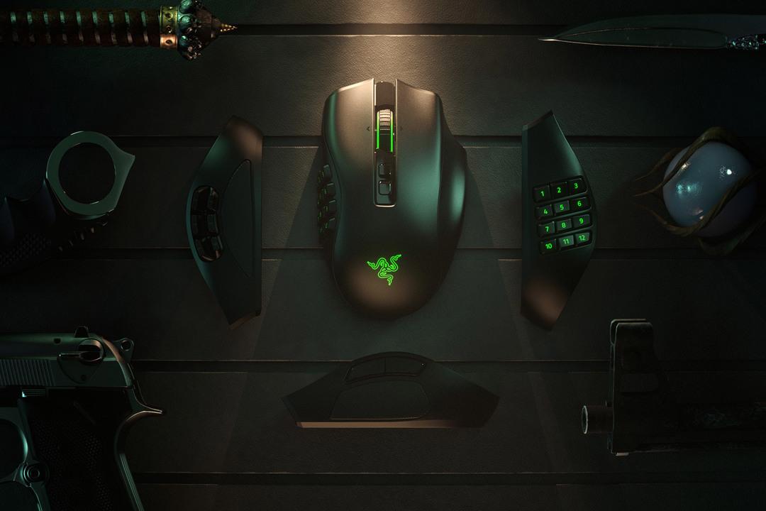 Razerのゲーミングマウス「Razer Naga Pro」発表。サイドボタン形状の変更でFortniteも快適になる?