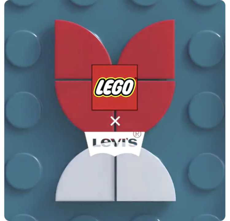 全く予想がつかない。今度のレゴは「リーバイス」とコラボするよ