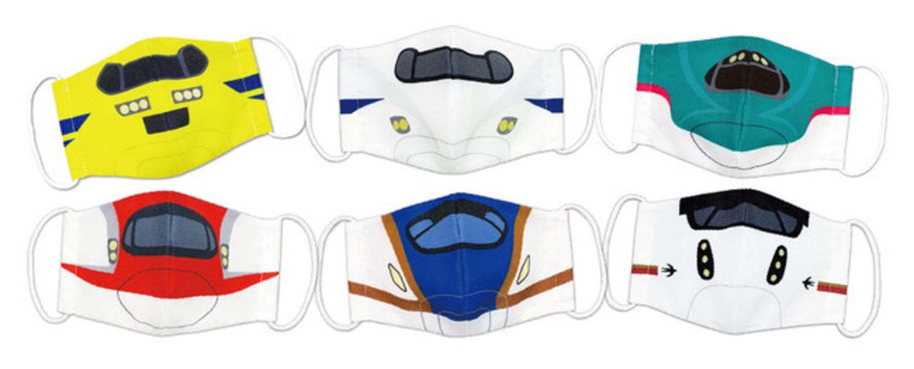 マスク嫌いのキッズにオススメ「新幹線なりきりマスク」