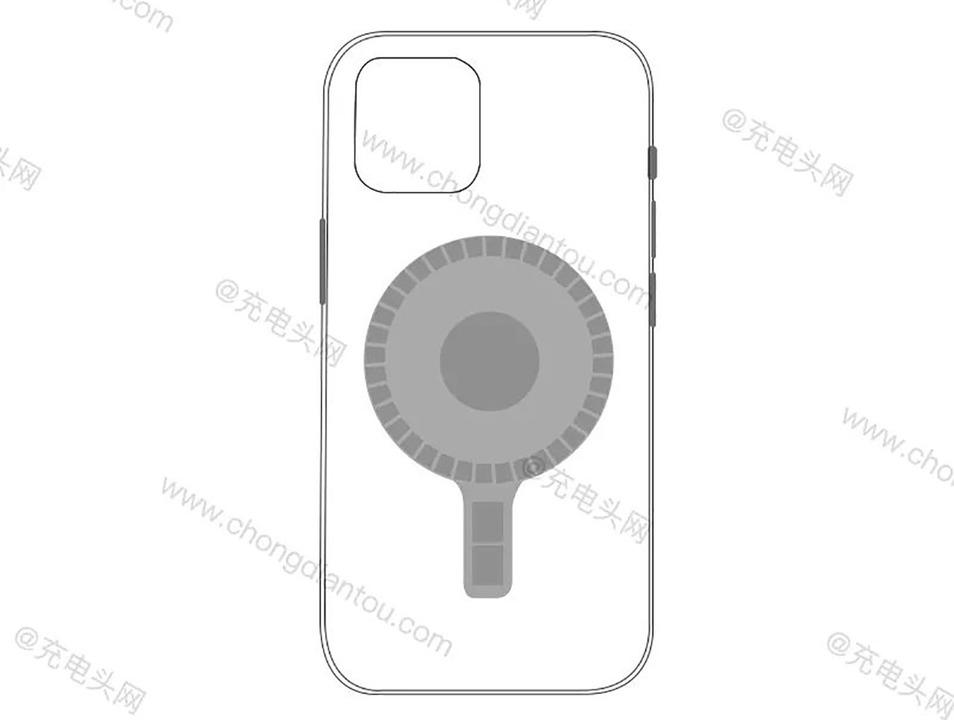 iPhone 12(仮)の謎の円形磁石がまたもリークされる