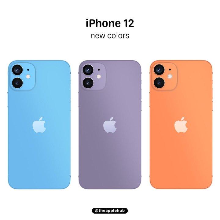 iPhone 12とiPhone 12 Max、カラバリ豊富でパープルは濃くなるかも?