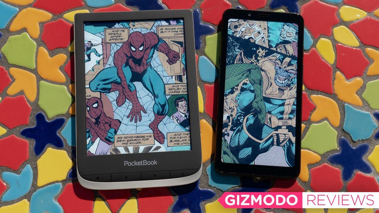電子ペーパーがついにカラーに! PocketBook Colorレビュー