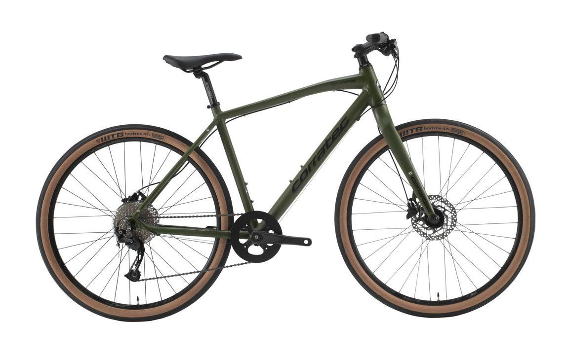 ワイドタイヤ&油圧ディスクブレーキで雨も砂利道もへっちゃら!コラテックのクロスバイク「SHAPE CHUBBY」