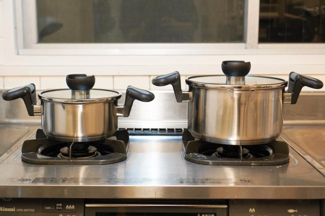 狭いキッチンでもラクラク料理! 時短機能が詰まった便利鍋「ARON」を使ってみた