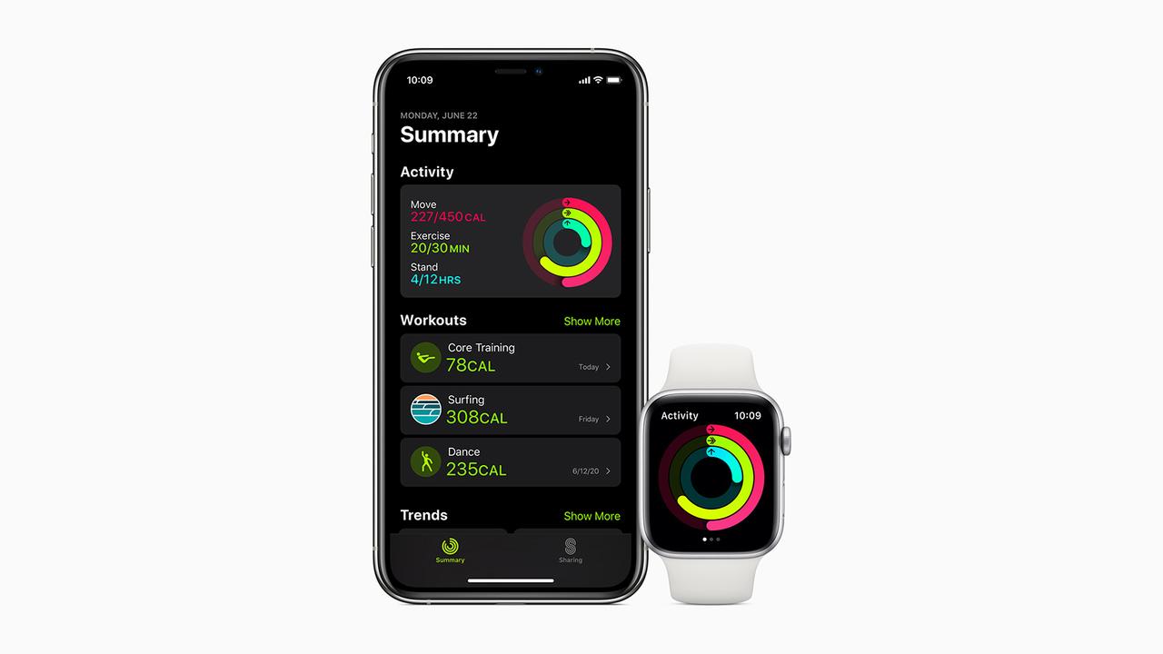 Appleのヘルスケアアプリで、しっかり健康管理