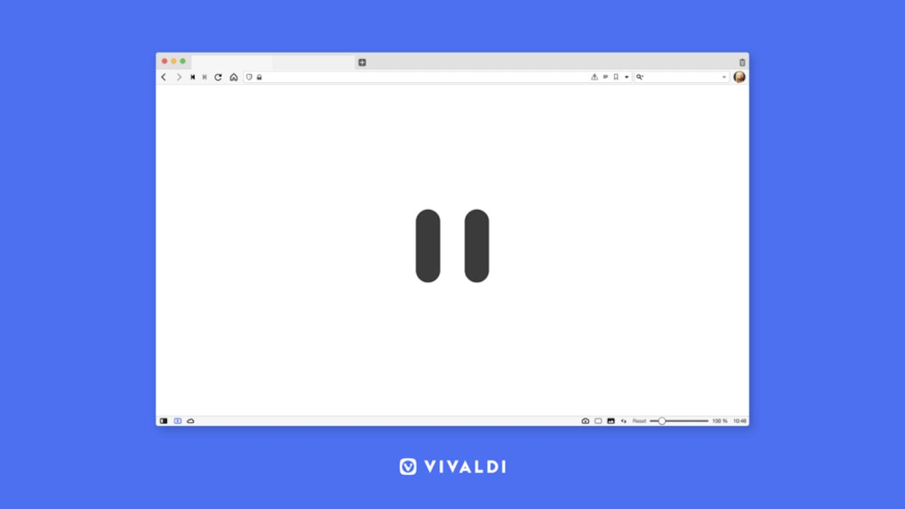 Vivaldiブラウザに「インターネット休憩機能」が登場