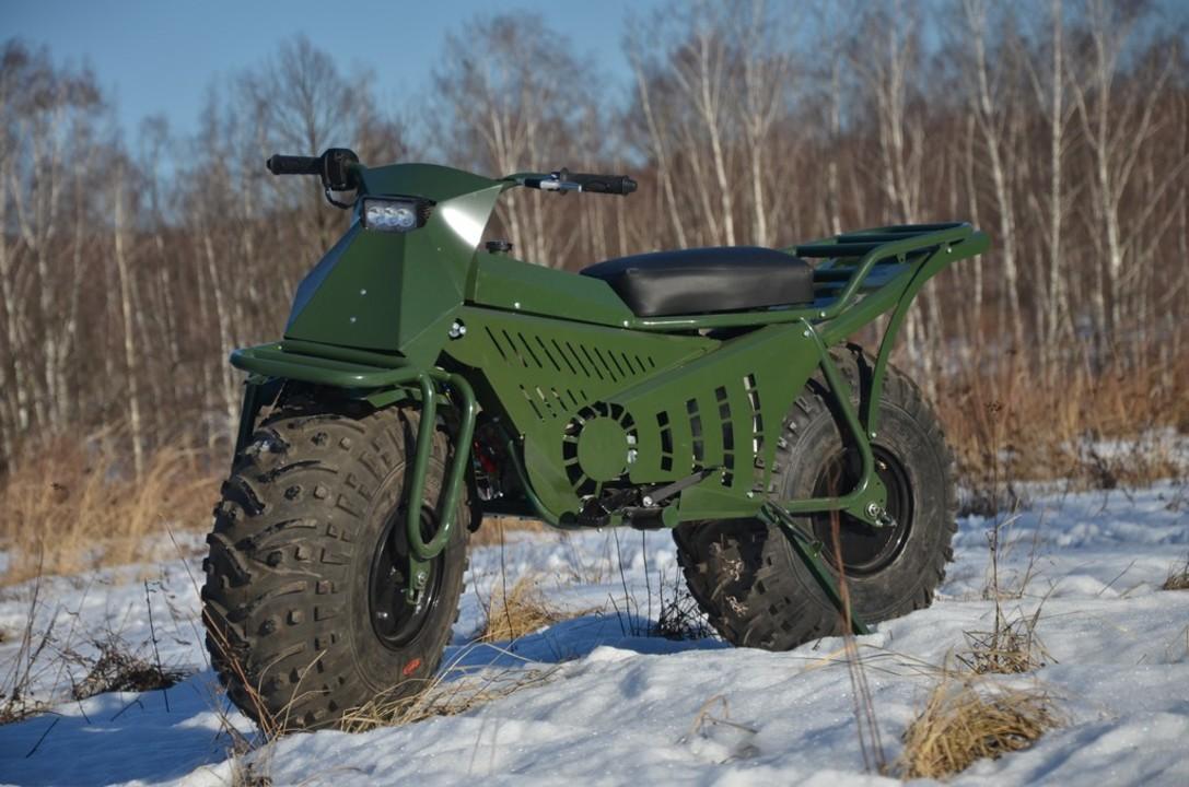 バラして車載できオフロードもへっちゃら。ロシアの極太2輪駆動バイク「TARUS」が欧米輸出開始