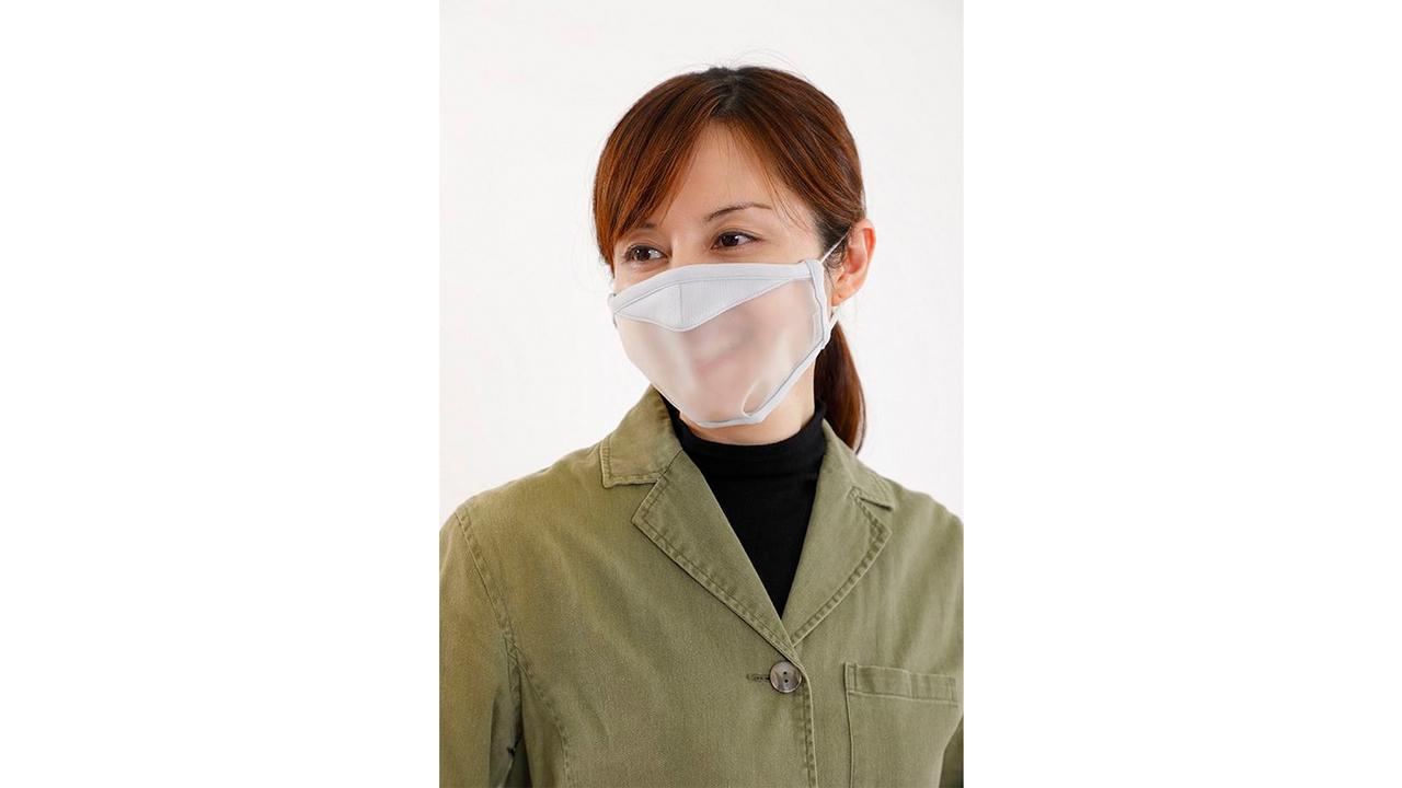 飛沫を通さず空気を通す。呼吸できる半透明のマスクが誕生