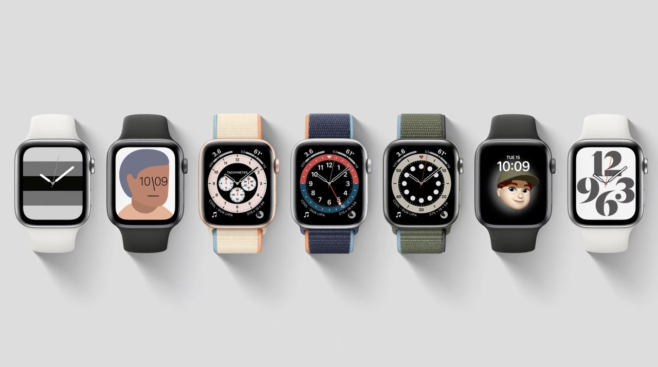 Apple Watchの新しい文字盤7種類まとめ #AppleEvent