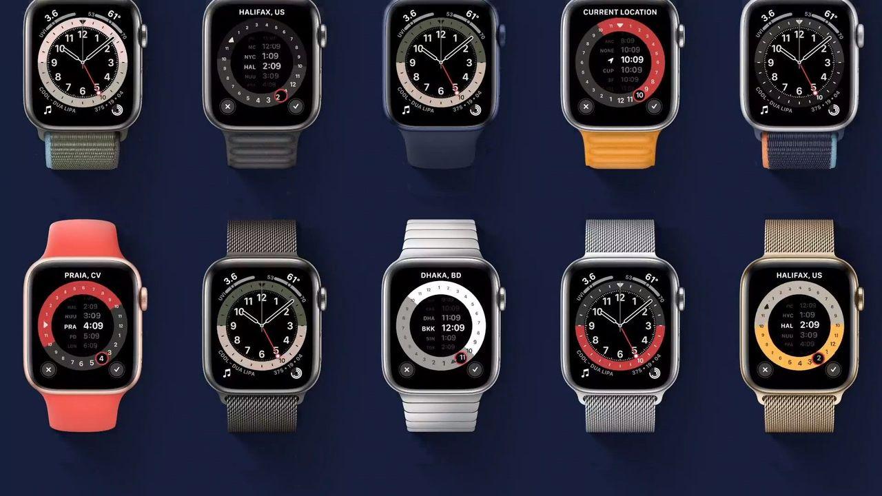 新型Apple Watchは魅力的な文字盤も複数追加! #AppleEvent