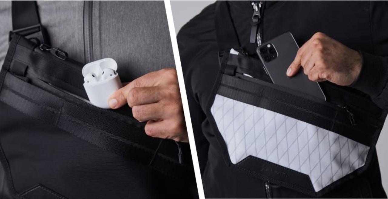 スマホやiPadが持ち運びやすいスリングバッグ「Atom X Sling」のキャンペーンが間もなく終了