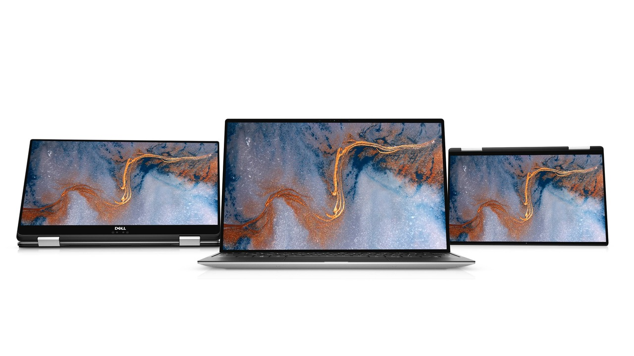 XPS13とXPS13 2-in-1新モデル、最新Intel CPUとThunderbolt 4を搭載