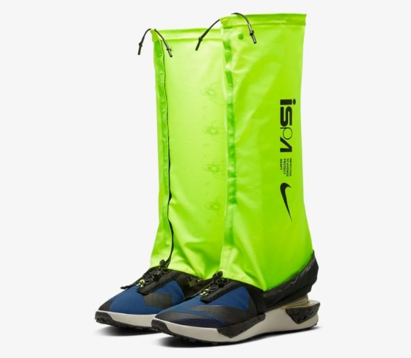 長靴にトランスフォームするスニーカー「Nike ISPA Drifter Gator」