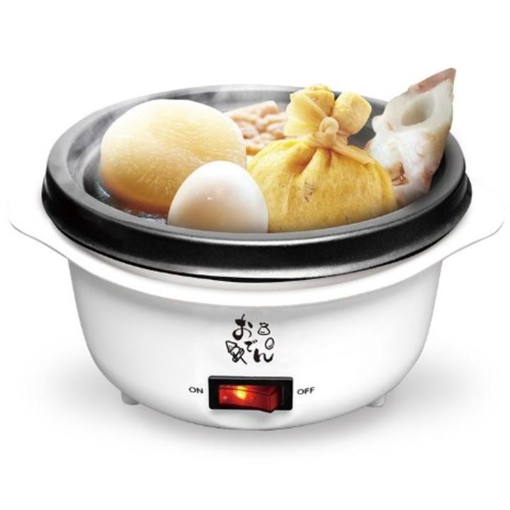 おうち時間をホクホクにする「卓上できるおでん鍋」。カレーうどんやアヒージョもOK