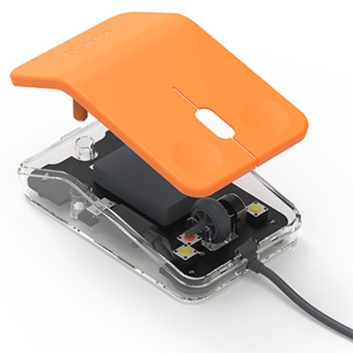 オレンジで可愛い組み立てマウス、STEM教育用PC「Kano」に登場