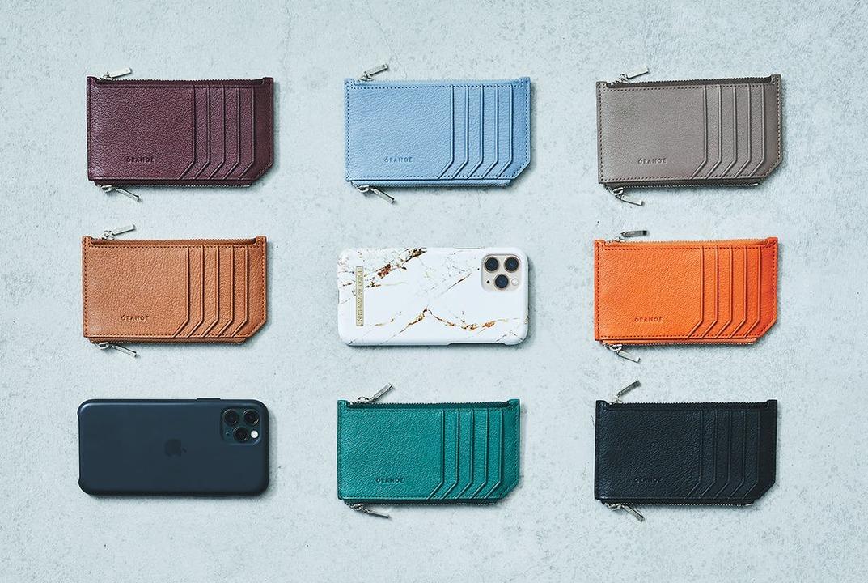 """iPhoneと同等サイズ。""""クリエイター×職人""""の粋なミニマル財布"""