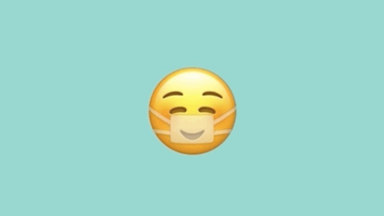 マスクしててもハッピー! Appleのマスク絵文字デザインが笑顔に