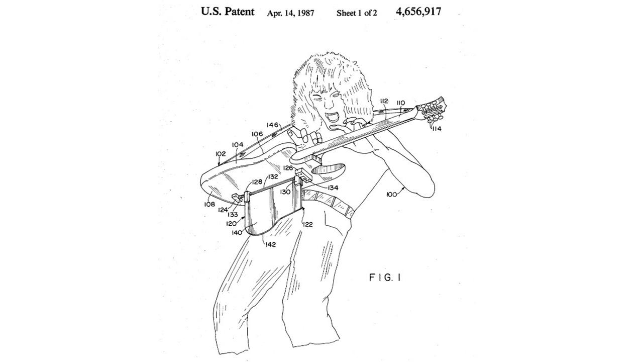 R.I.P. 発明好きのギターヒーロー。エディー・ヴァン・ヘイレン、ギターに関する発明で特許申請していた
